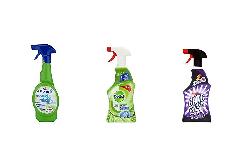 Mould remover sprays