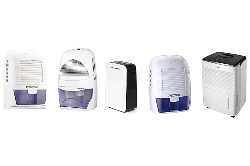 Best Dehumidifiers Under 100 Pounds