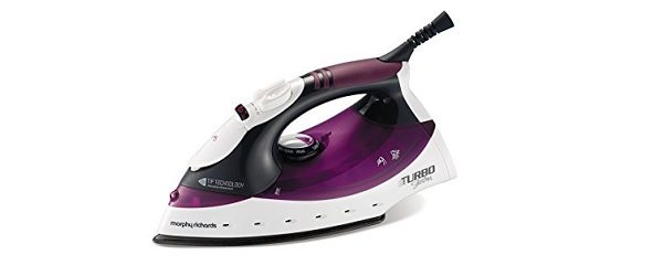 Morphy Richards Turbosteam Iron with Diamond Soleplate Review