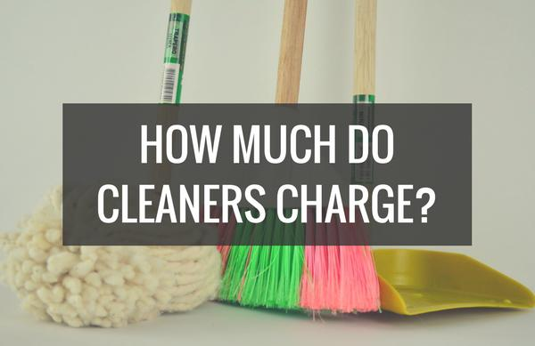 How much do cleaners charge UK