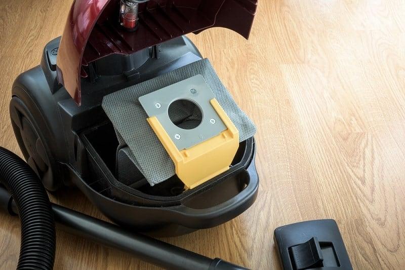 Inside Vacuum Cleaner