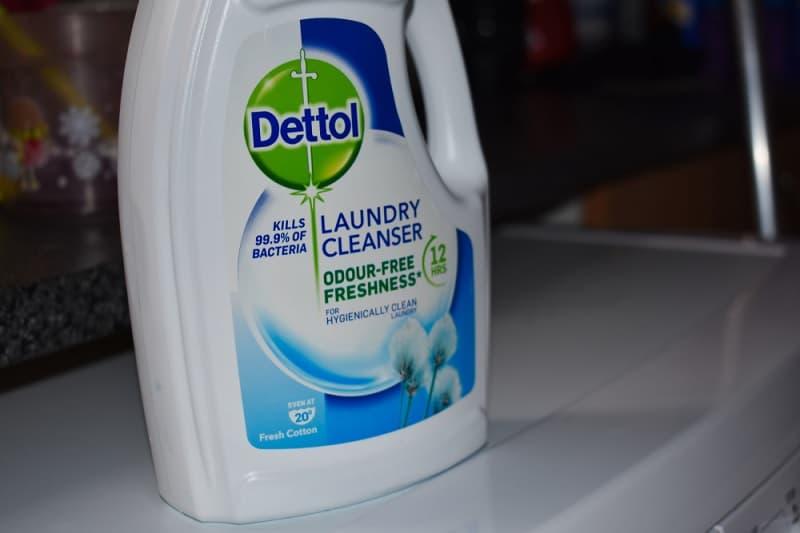 Bottle Of Dettol Laundry Cleanser