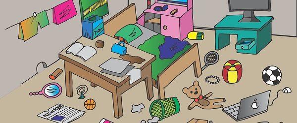 Untidy house
