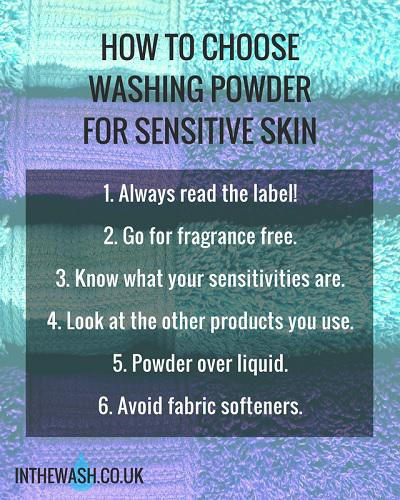 How to Choose Washing Powder for Sensitive Skin