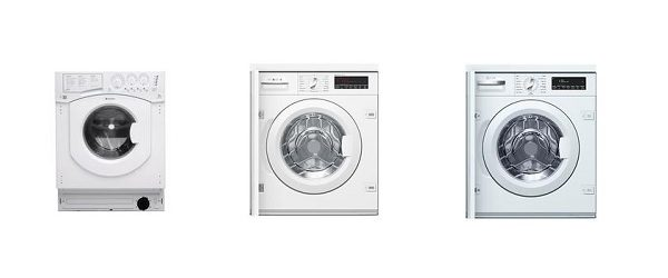 Quiet Integrated Washing Machines