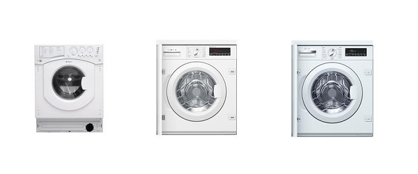 Quiet Integrated Washing Machines