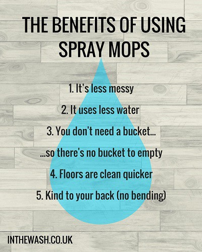 The Benefits of Using Spray Mops