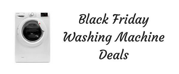 Black Friday Washing Machines