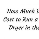 How Much Does it Cost to Run a Tumble Dryer in the UK?