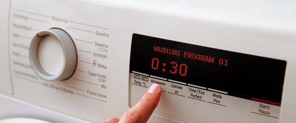 30 minute washing machine cycle