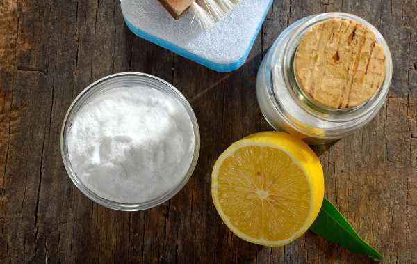 Using bicarbonate of soda for cleaning