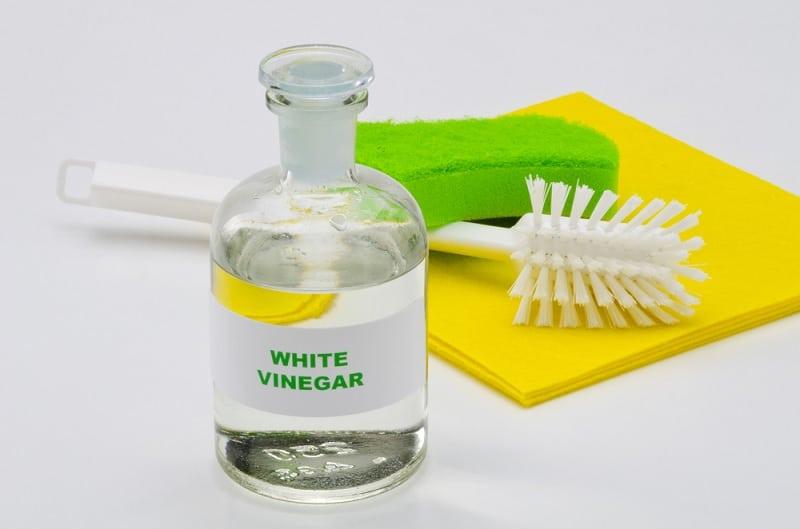White Vinegar Bottle For Household Cleaning