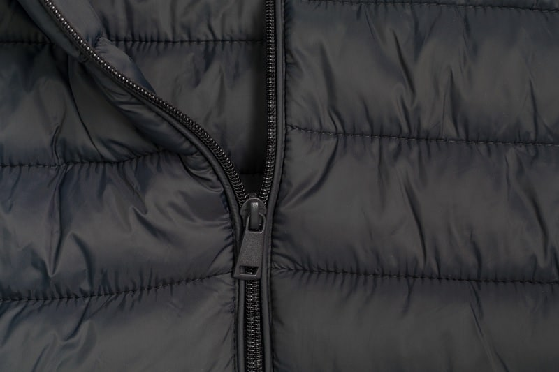 Down jacket close up