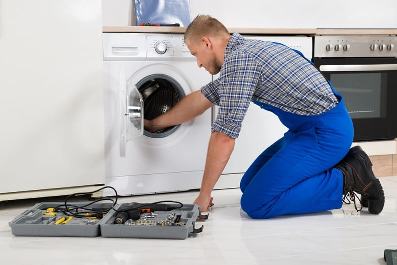 Fixing washing machine