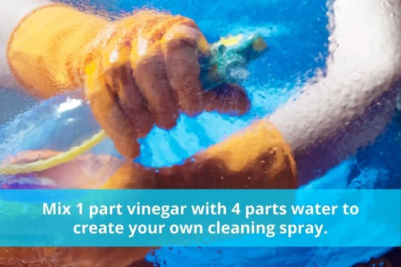 DIY Vinegar Cleaning Spray Instructions