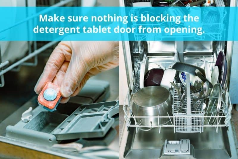 Dishwasher Detergent Door