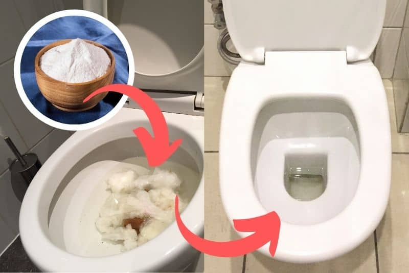 How to Unblock Toilet Using Caustic Soda