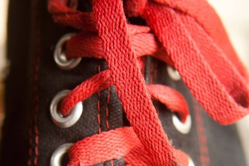 Remove Converse Laces Before Cleaning and Clean Separately