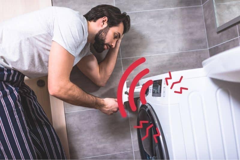 loud washing machine spin cycle