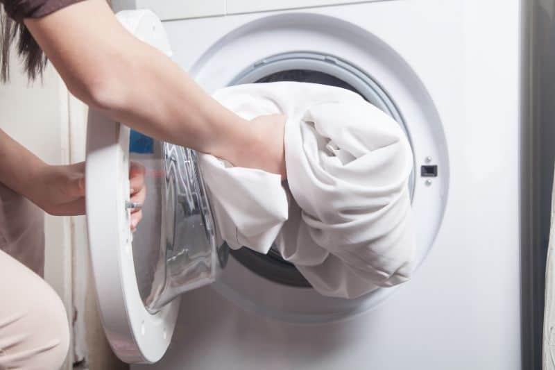 machine washing duvet