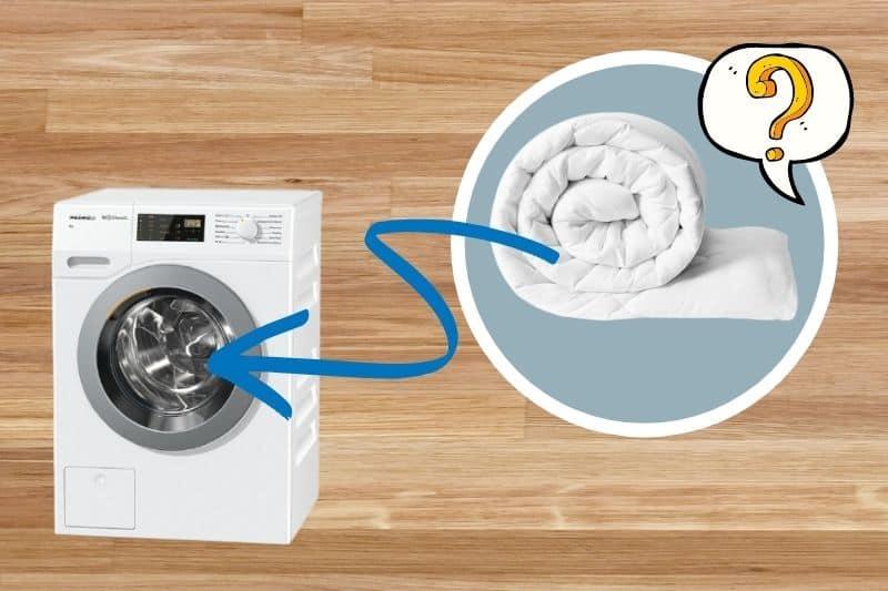 Can you wash double duvet in 7kg washing machine