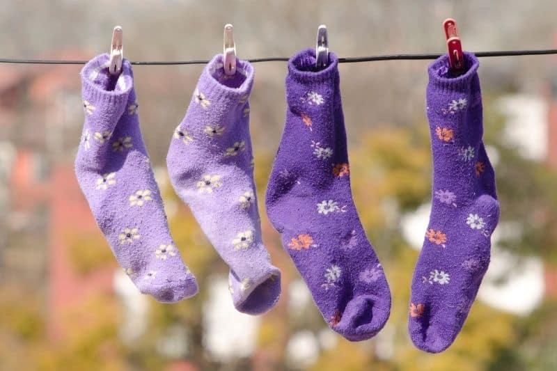 Air Drying Socks