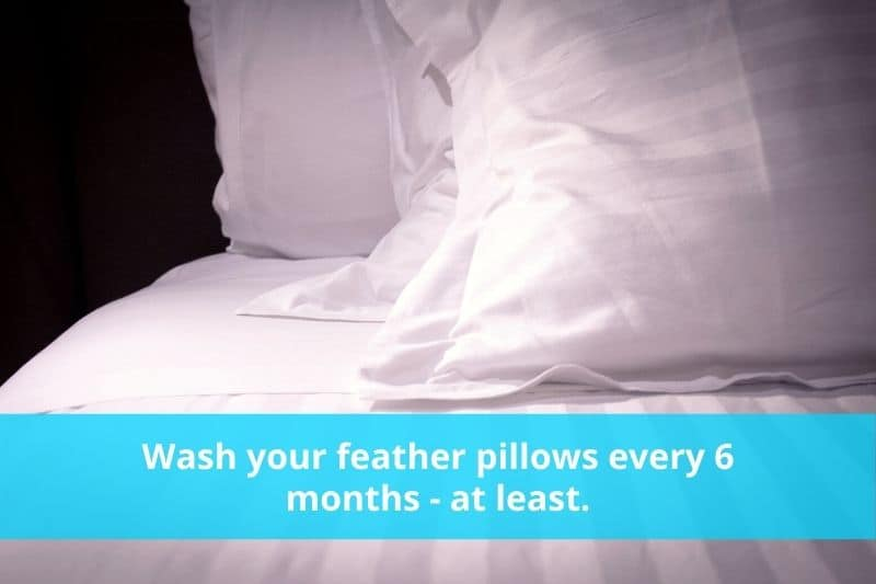How Often Should You Wash Feather Pillows