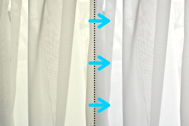 How to Whiten Net Curtains