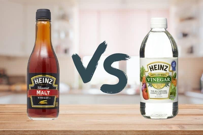Malt Vinegar vs White Vinegar