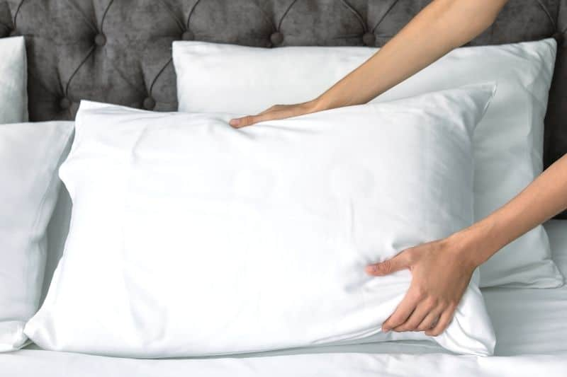 Plump Feather Pillows to Keep Them Fluffy