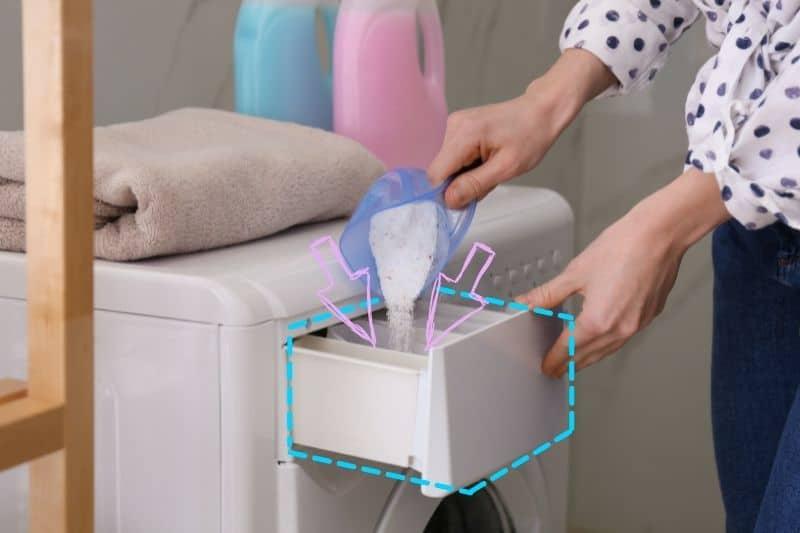 Where to Put Washing Powder