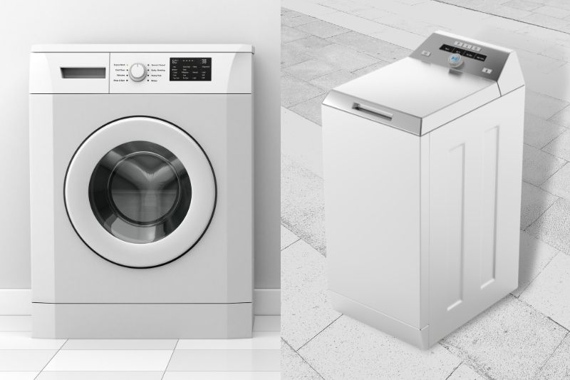 front-loading vs top-loading washing machine