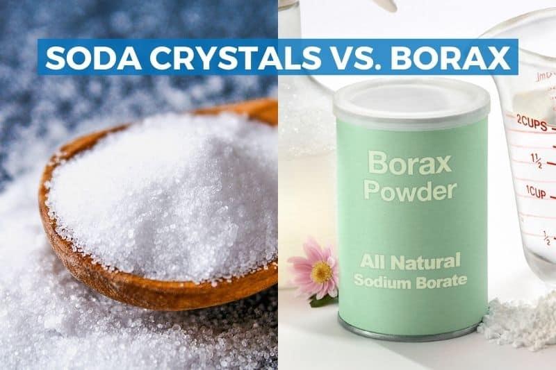 Are Soda Crystals and Borax the Same Thing