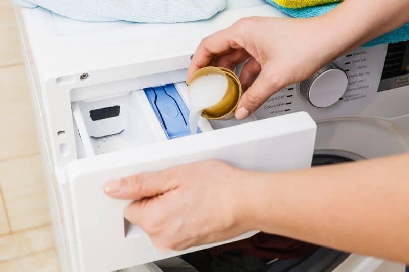 Fabric Softener Compartment