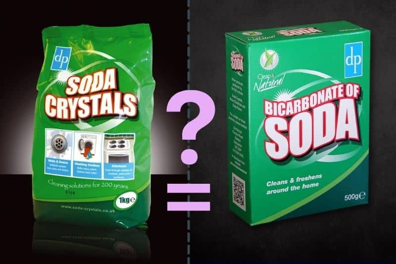 Are Soda Crystals the Same as Bicarbonate of Soda