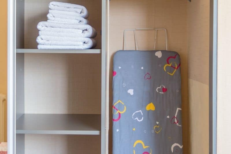Storing the Ironing Board