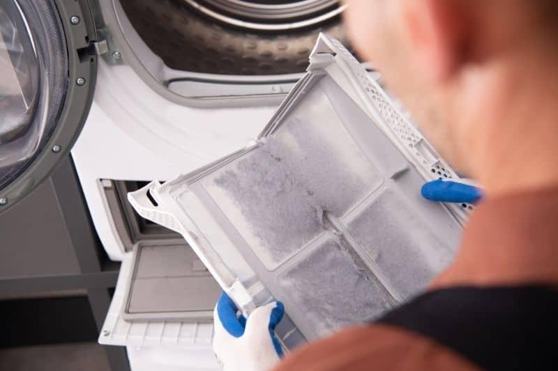 Blocked Washing Machine Filter