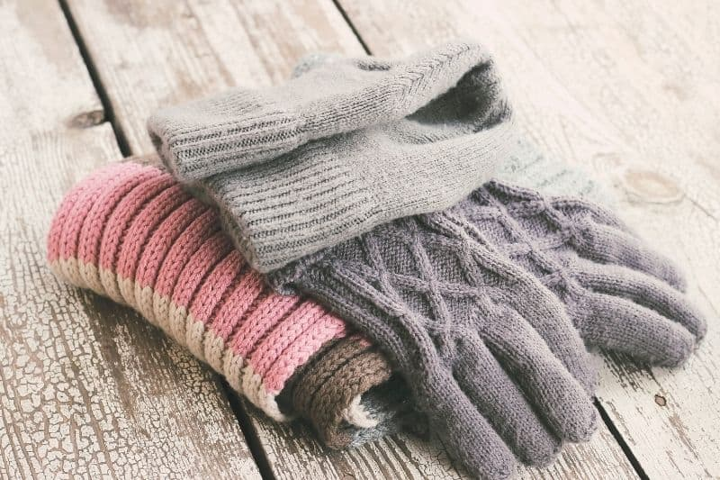 Hat, Glove, and Scarf