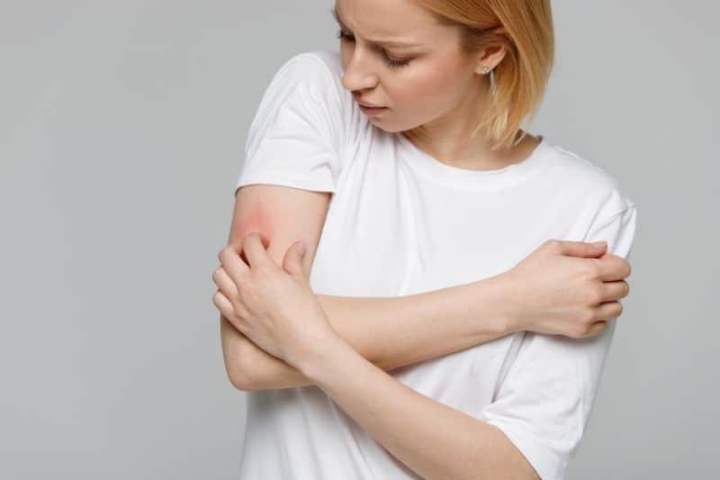 Allergic Skin from Detergent