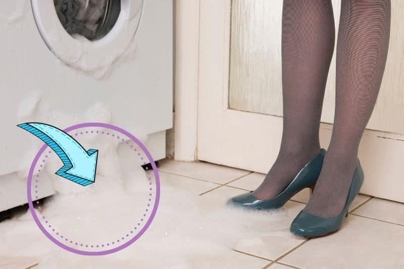 Water Leaking from Bottom of Washing Machine