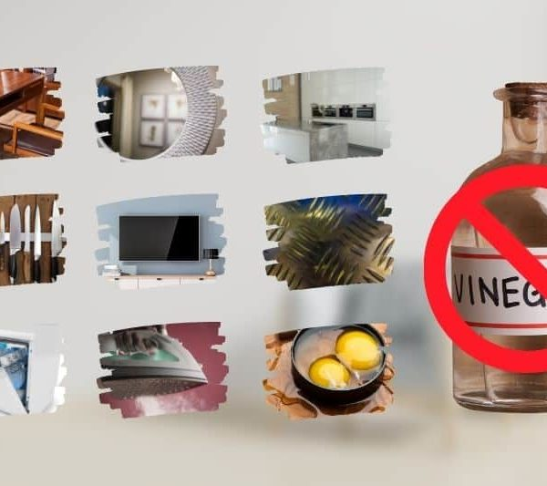 What NOT to Clean with Vinegar – Don't Clean These 9 Things With Vinegar