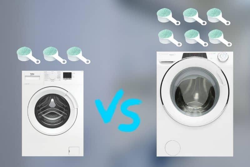 5kg vs 9kg washing machine