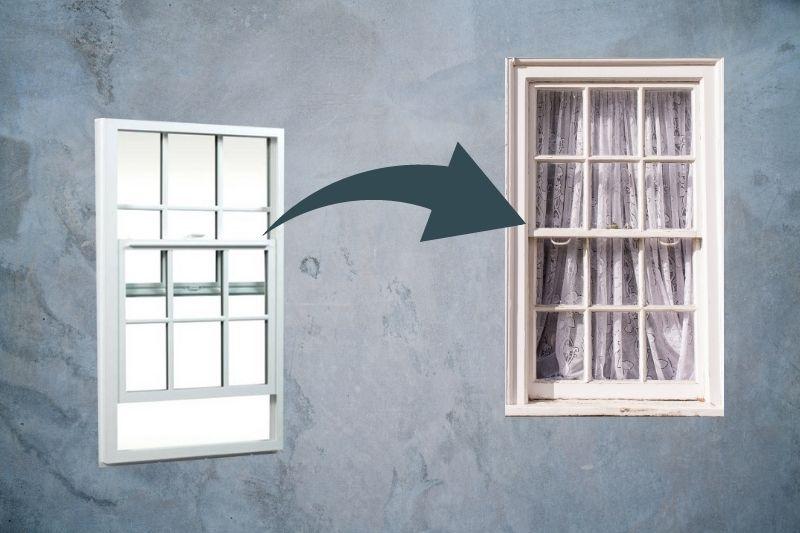 Cleaning Single-Hung Sash Windows