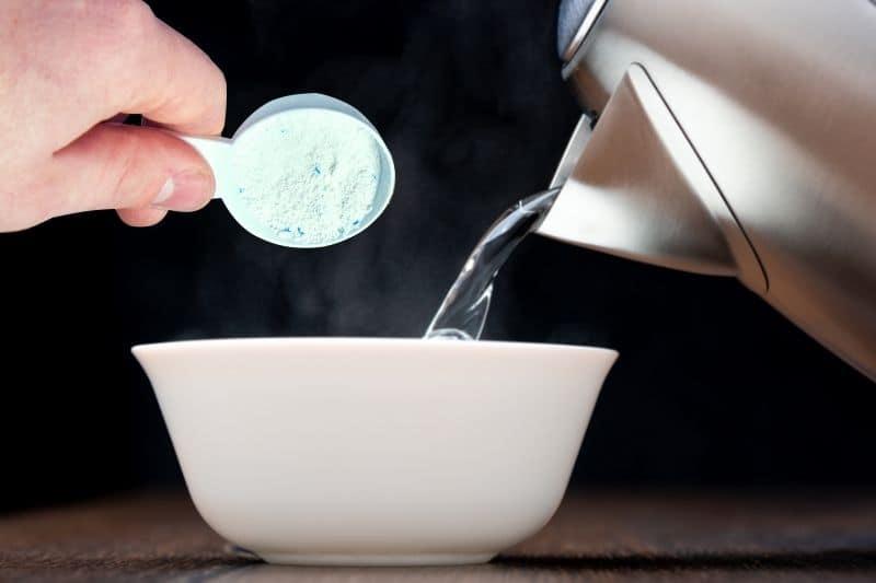Combining Warm Water and Powder Detergent