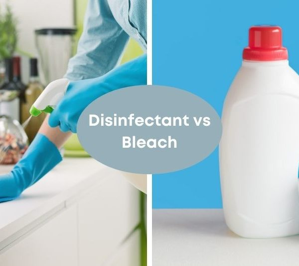 Is Disinfectant the Same as Bleach?