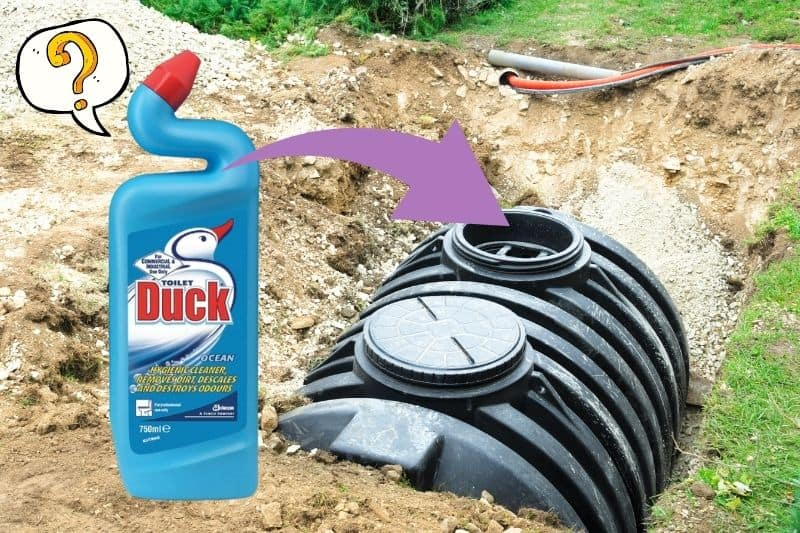 Is Toilet Duck Safe for Septic Tanks