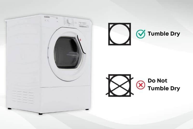 Tumble Dryer Drying Symbols