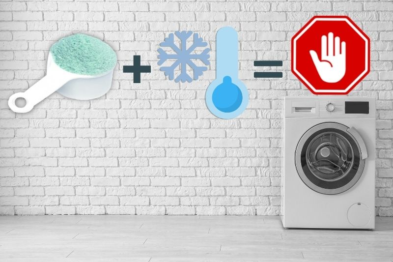 Using Detergent Powder on Low Temperature
