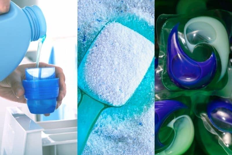 Washing Machine Detergent Options