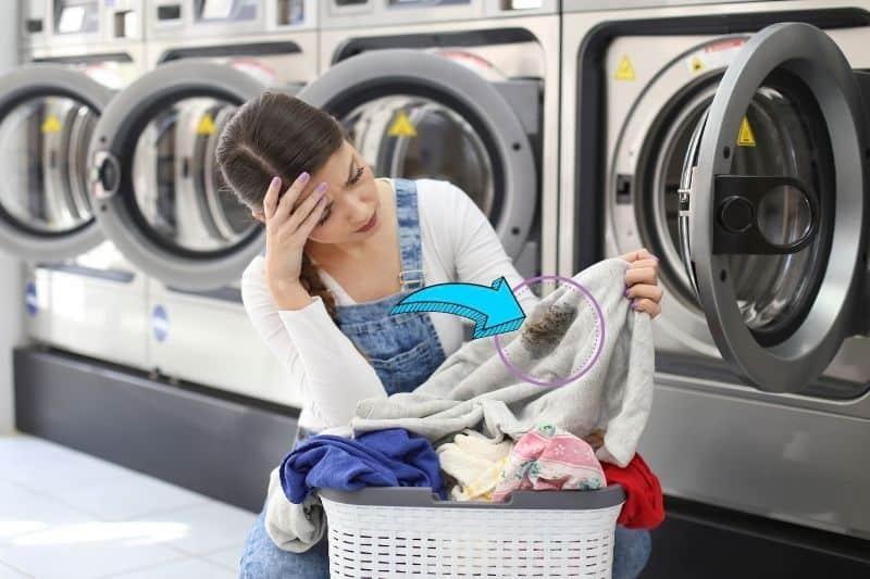 Washing Machine Leaves Gunk on Clothes